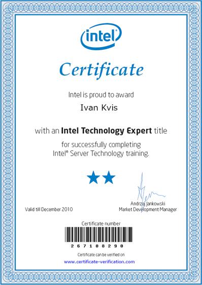 Intel Technology Expert