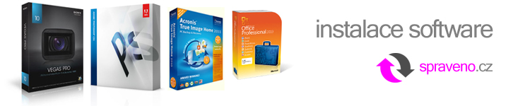 Instalace software