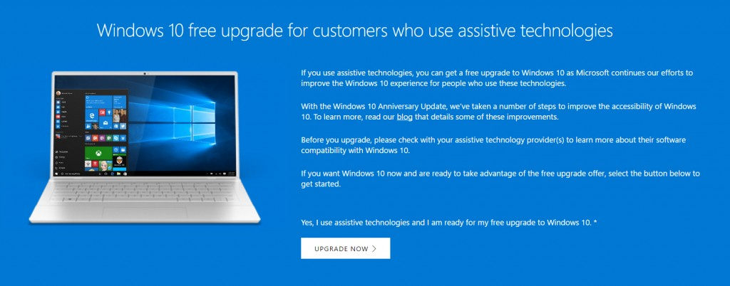 Upgrade na Windows 10